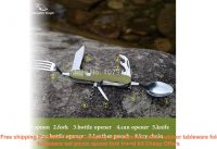 ☀️  Free shipping Portable Folding Camping Tool Stainless steel outdoo