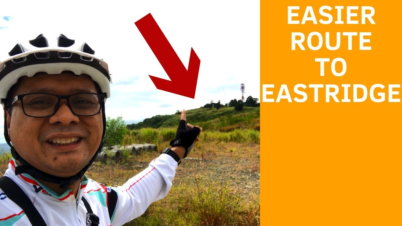 Alternative Route to Eastridge, Thunderbird Trails and Angono Petroglyphs