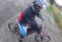 Besöker Brunflo Bike Park