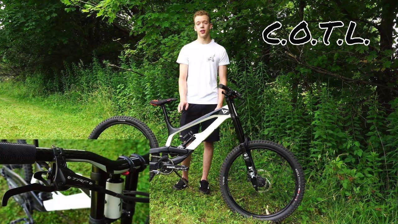 Bike Check - Jackson's custom YT Tues
