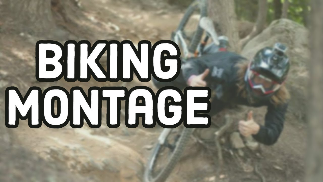 Biking Montage (I CRACKED MY HELMET!?)