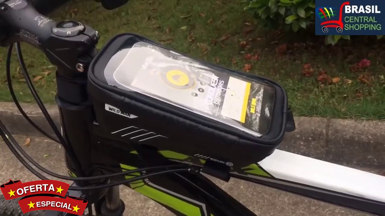 Bolsa Mountain Bike À Prova de Chuva À Prova D' Água 6.2 polegada