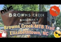 Browns Creek Mountain Bike Trail ( Elizabethtown, NC )