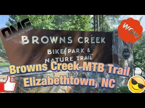 Browns Creek Mountain Bike Trail ( Elizabethtown, NC )