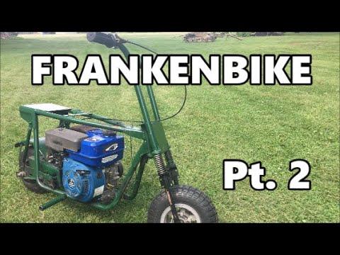 Building the Frankenbike: Mini Bike Gas Tank + Riding Pt. 2