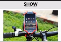 CoolChange MTB Bike Bicycle Adjustable Mobile Phones Mount Holder Stand