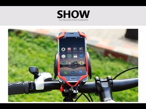 CoolChange MTB Bike Bicycle Adjustable Mobile Phones Mount Holder Stand