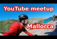 Cycling in Mallorca with my converted road bike