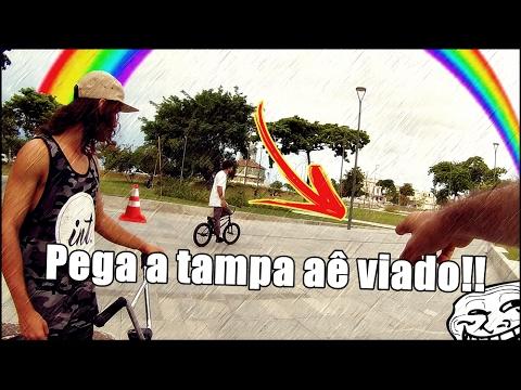 Daily Vlog Rolê no centro do RJ´´Dia de BMX #1´´ ( Trollei com a tampa )