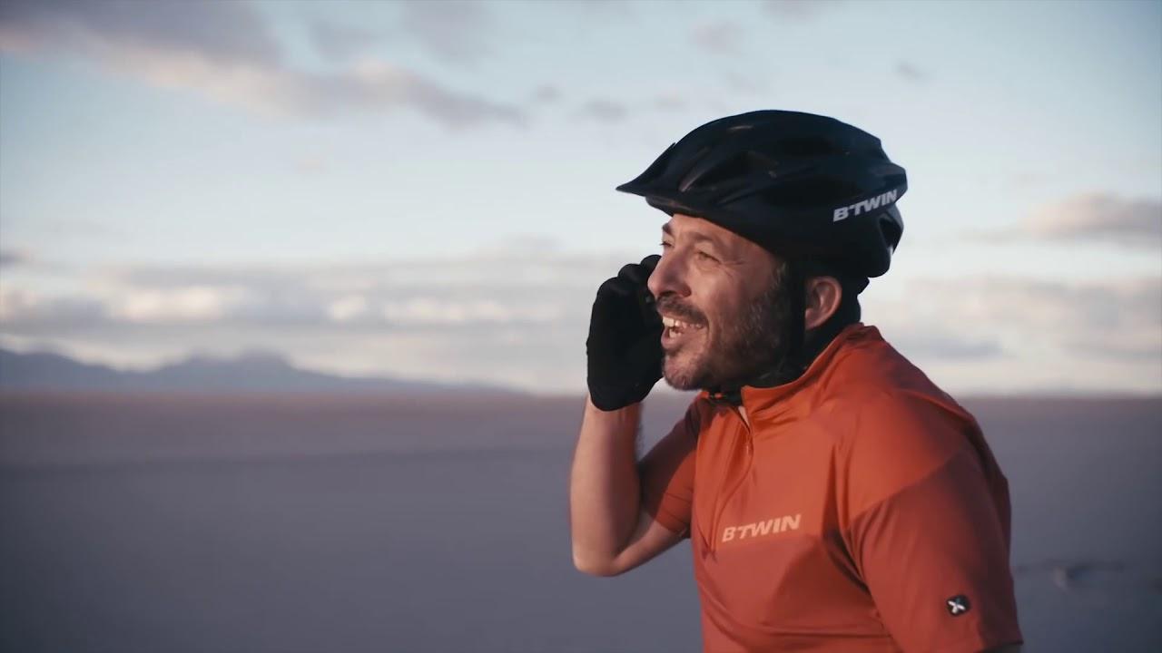 Decathlon B'Twin ROCKRIDER 340 narancssárga hobbi mountain bike TV reklám
