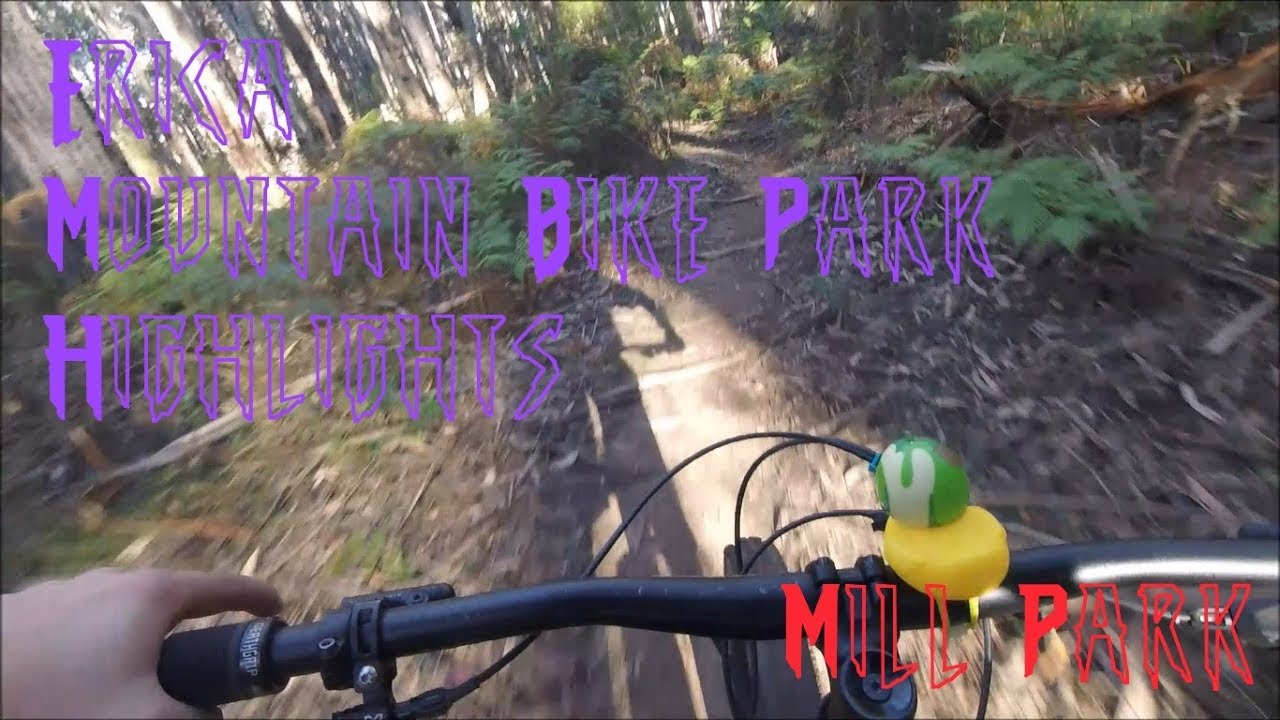 Erica Mountain Bike Park Clips and Highlights (Mill Park)