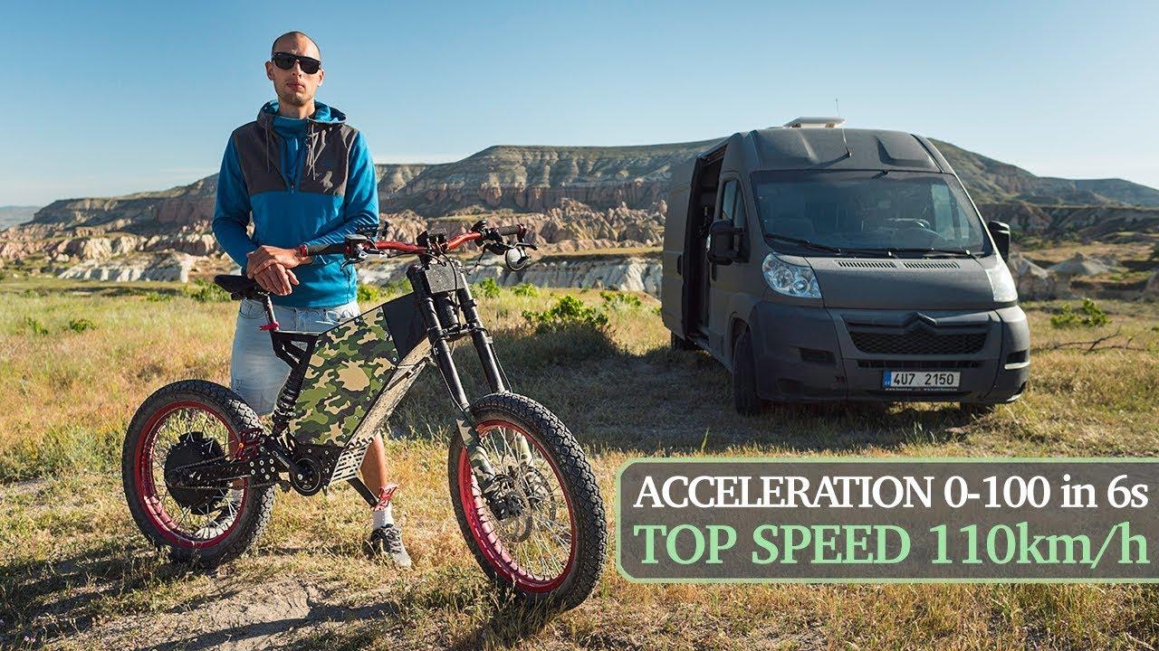Fast & Powerful 17kW DIY eBike|Electric Bike|Wheelies, Drifting, Acceleration