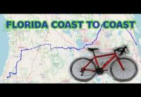 Florida coast to coast on $99 Walmart bike - VLOG