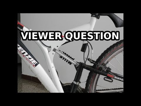 Full suspension to hardtail conversion - viewer question