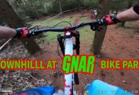 GNAR BIKE PARK DOWNHILL | SCOTT VOLTAGE FR | DH MTB CRASH