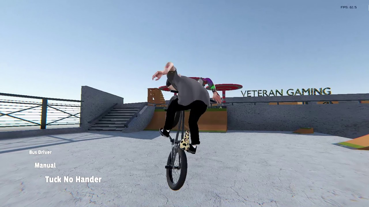 "Gang Lone Wolf Pipe BMX Streets - ""Vpark"" Map Edit"