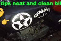 How To Motorcycle In Full Neat And Clean 5 Tips And Most Popular Work Full Motorcycle Bike Clean
