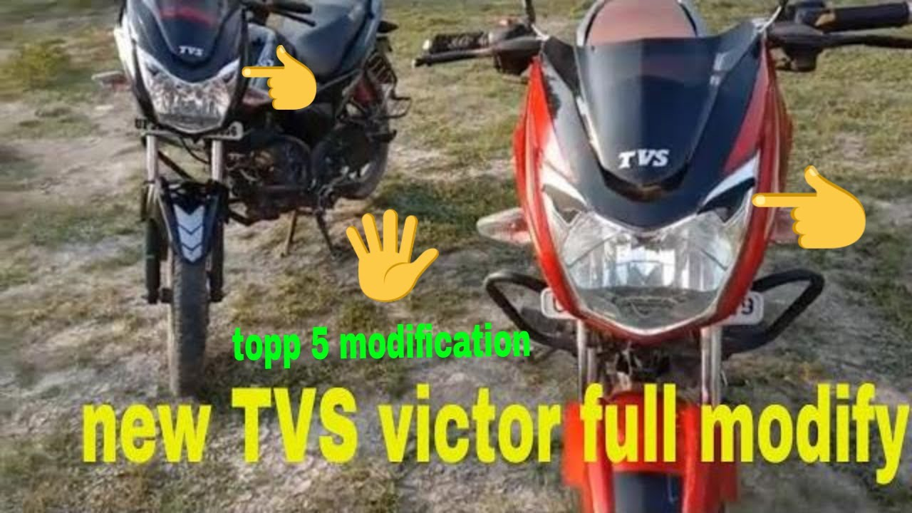 How to  Company TVS victor or modify tvs victor full review new tvs 2019 model and bs4 and 110cc tvs