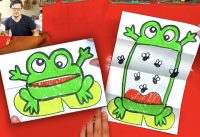 How to draw a Frog - Folding Surprise