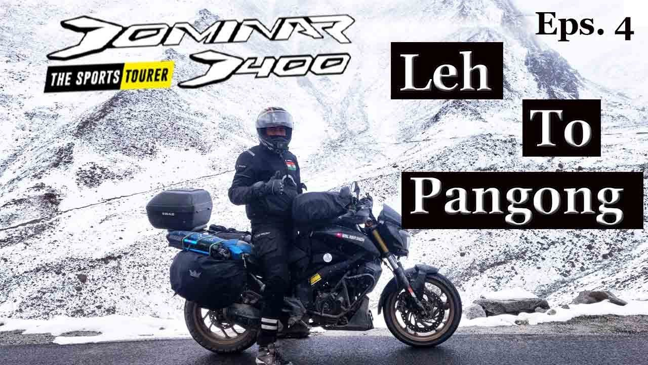 Leh Ladakh Bike Trip || leh to Pangong lake  - Day 4 II RRD II