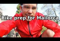 MTB to Road bike conversion prep for Mallorca Youtube meetup