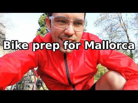 MTB to Road bike conversion prep for Mallorca Youtube meetup