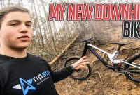 MY NEW DOWNHILL BIKE IS INSANE!