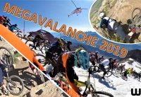 Megavalanche 2019 Crashes and Nice bits (360 camera)