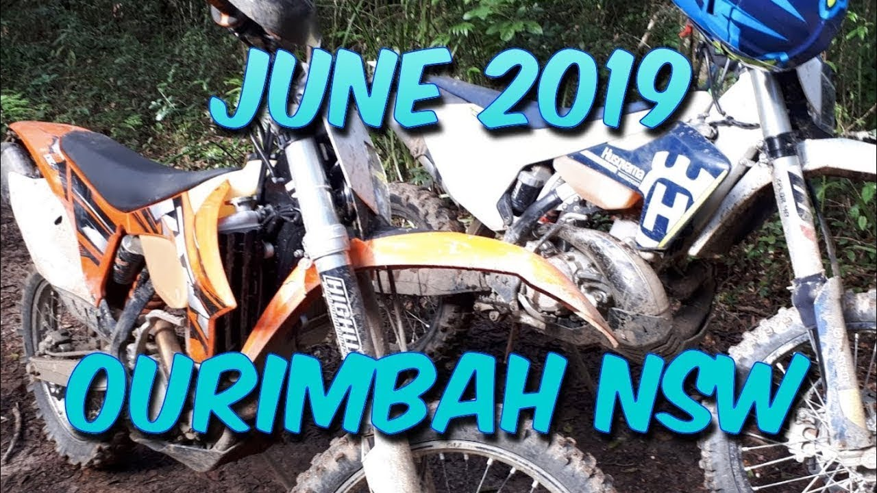 Ourimbah NSW Dirt Bike RIding June 2019 1080P