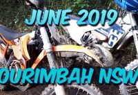 Ourimbah NSW Dirt Bike RIding June 2019