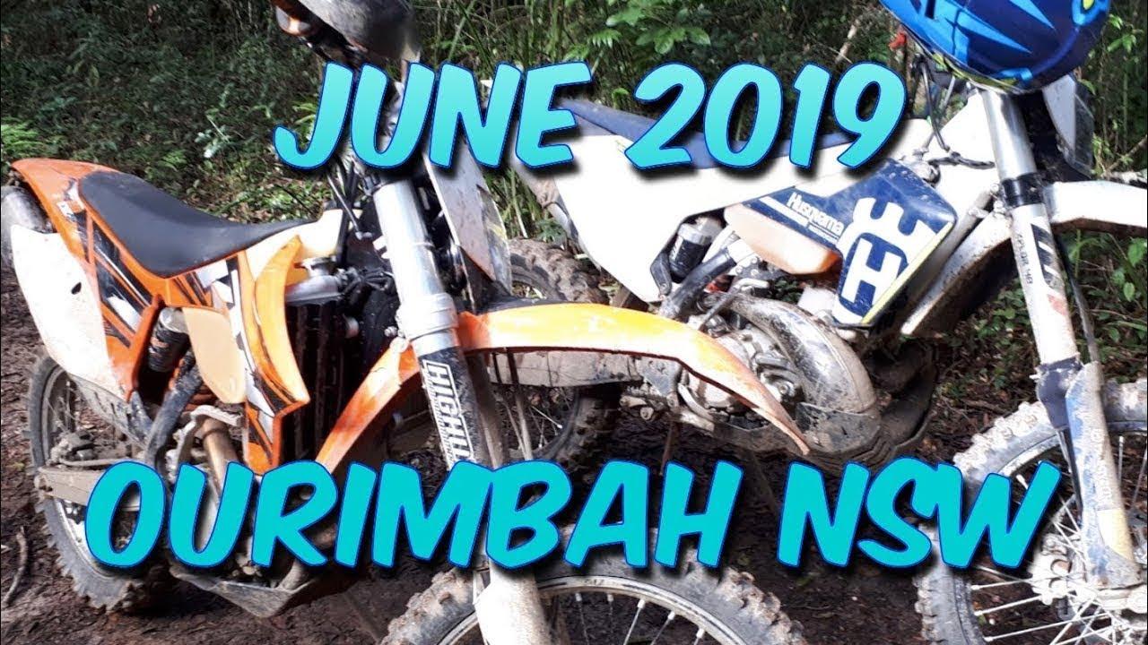 Ourimbah NSW Dirt Bike RIding June 2019