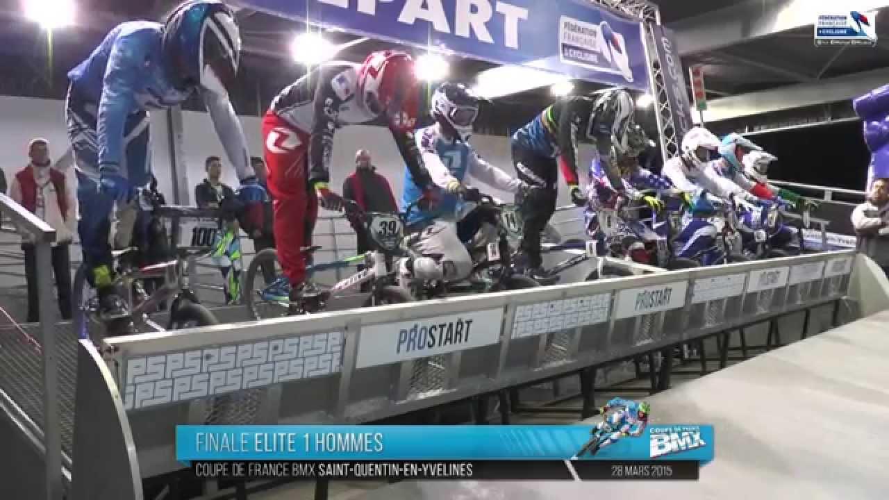 REPLAY FINALES SAMEDI SOIR LIVE COUPE DE FRANCE BMX À SAINT-QUENTIN EN YVELINES 28 MARS 2015