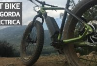 Review de la Fat Bike Eléctrica - La Gorda Eléctrica!