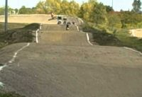 Second  oldschool  bmx shootout race at The Hill track 9/15/12