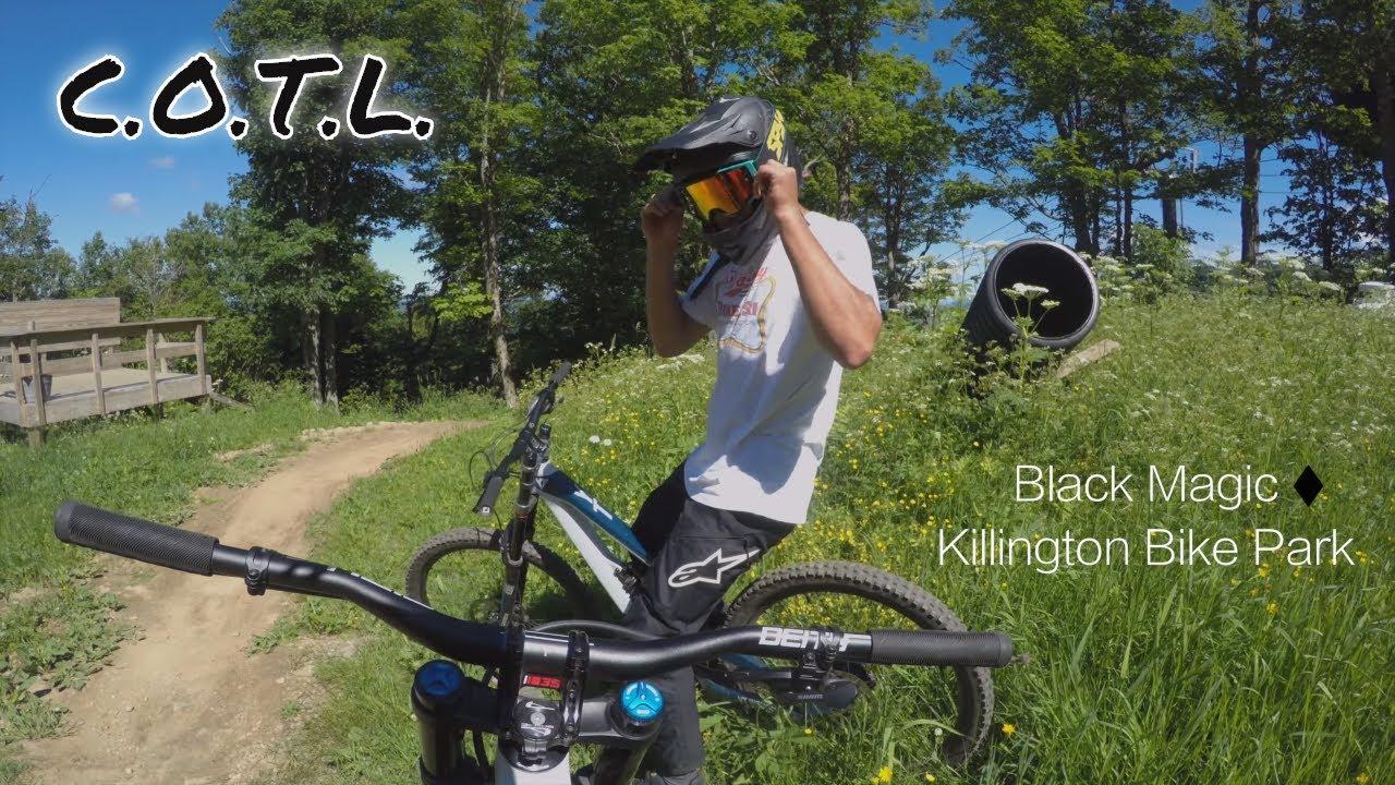Shredding Black Magic at Killington Bike Park