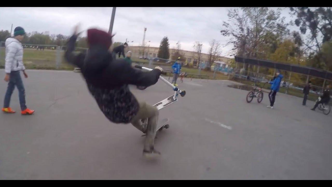 Skatepark creativity (skate + scooter + BMX )
