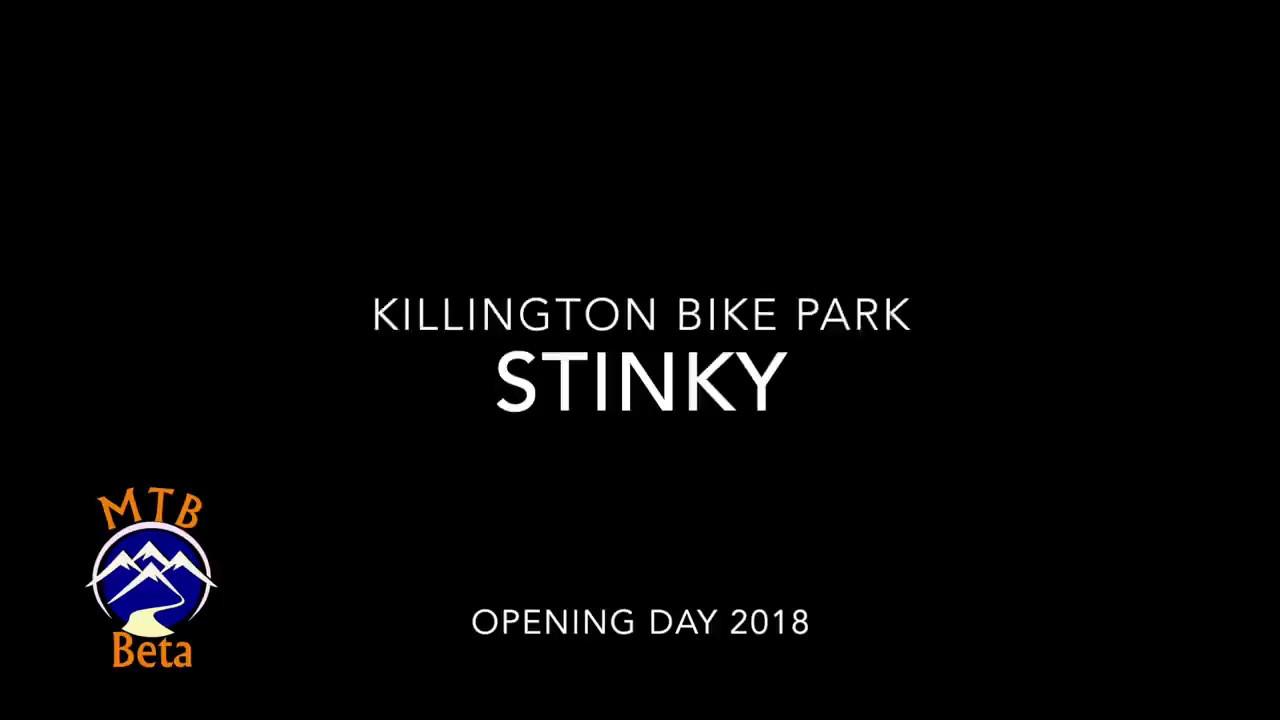 Stinky at Killington Bike Park Opening Weekend 2018