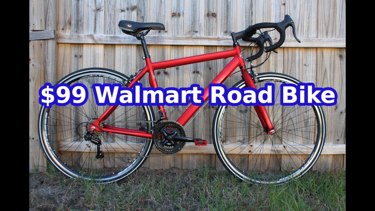 Unboxing and assembly of my $99 Walmart Road bike