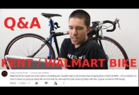 Walmart / Kent Road bike - Q&A and responding to comments