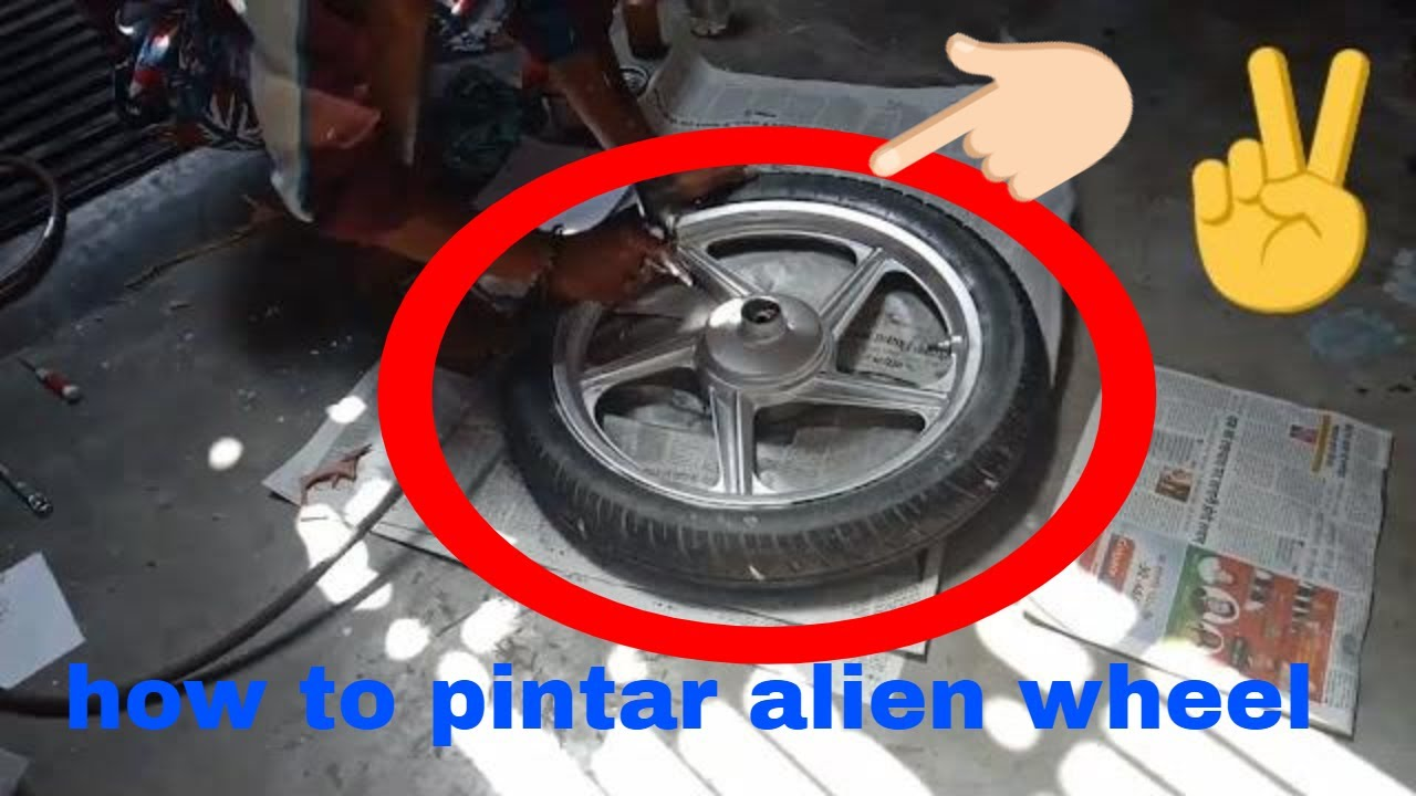 howto modify alloy wheel for new modification new bikes attraction alloy wheel paint andchromefinish