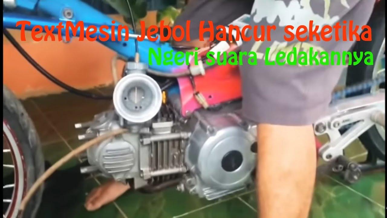 motor Drag jebol mesin ambrol !!!