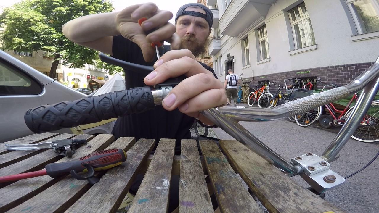 #  12 Das Rockman BMX braucht einen anderen Bremshebel Dienstag 18 07 2017 Bike Shop Berlin