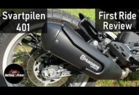 2019 Husqvarna Svartpilen 401  | First Ride | Review | EN/DE Subs