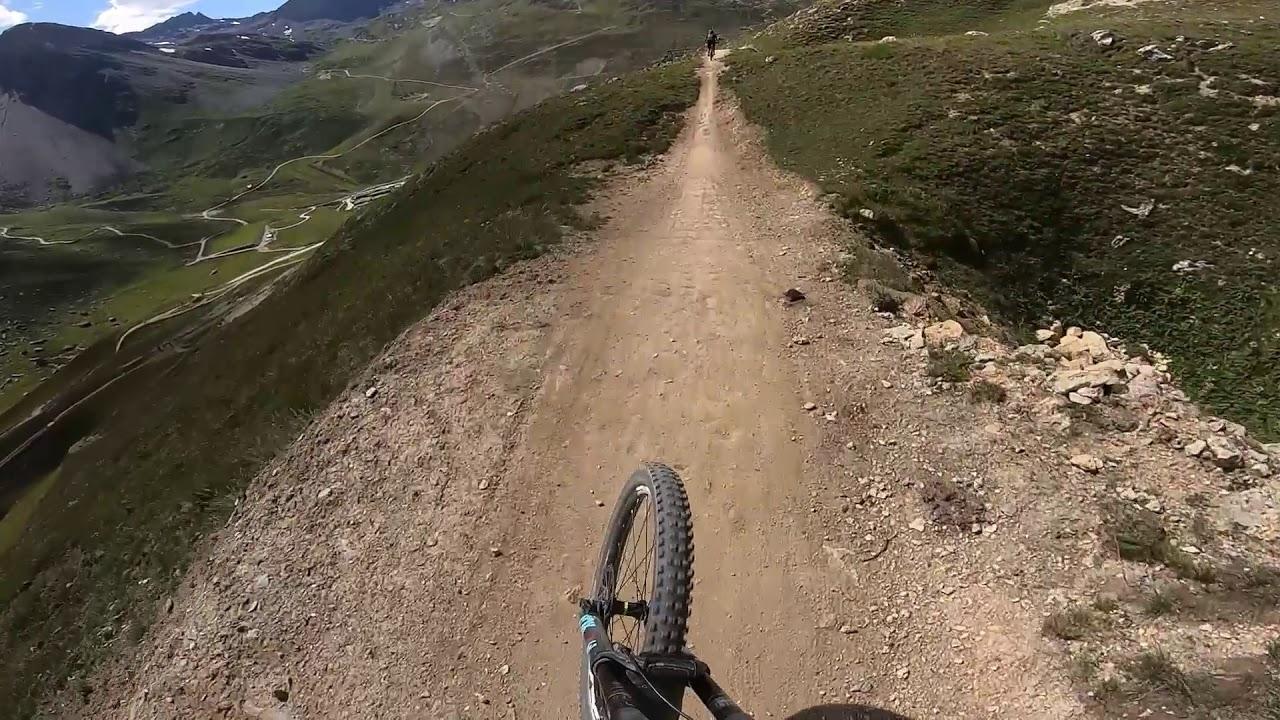 52 seconds of flow trails in tignes bike park