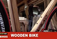 Amazing hand made wooden bike by Basque woodworkers