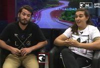 Analía Zacarías y Leandro Noziglia, representantes de BMX