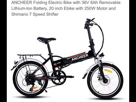 Ancheer Electric E Bike 2019