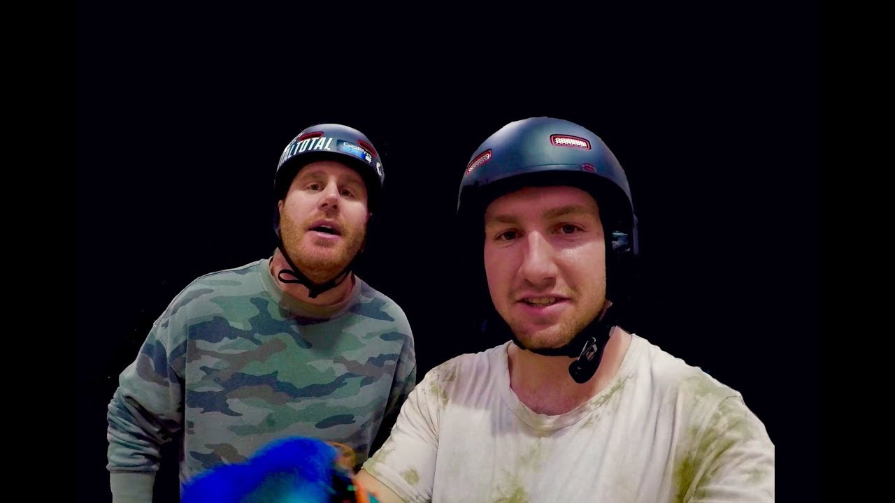 BACK ON THE BMX WITH THE CIRQUE DU SOLEIL KING!!