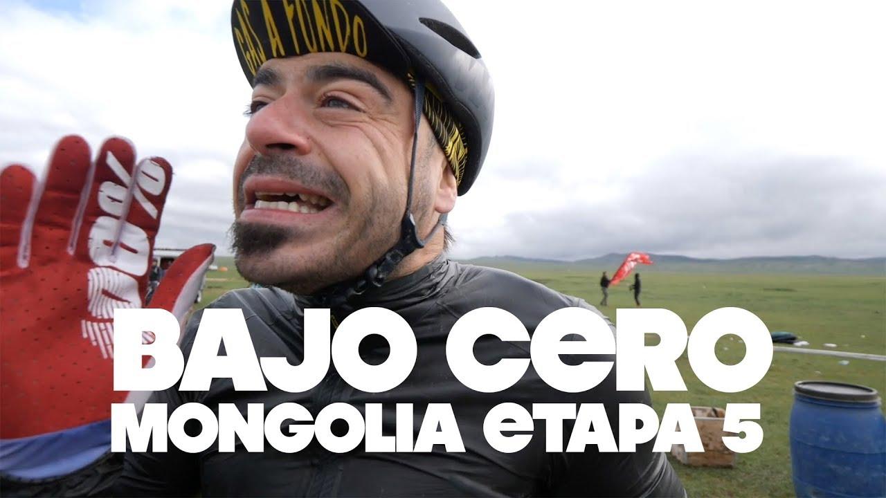 BAJO CERO | ETAPA 5 MONGOLIA BIKE CHALLENGE | Valentí Sanjuan