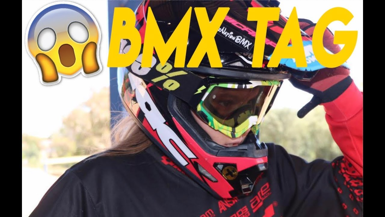 BMX RACER TAG!
